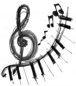 Music clipart - keyboard