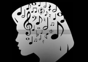 Music clipart- head